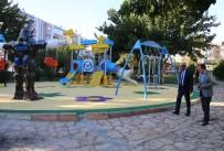 VEYSEL KARANI - Demirkol, Park Ve Bahçe Çalışmalarını İnceledi