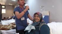 Hemşirelerden Diyaliz Hastalarına Şarkılı Moral