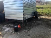 İki Ayrı Hafriyat Şirketine Ait Araçların Akü Ve Jantlarını Çaldılar