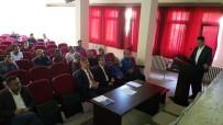 MUSTAFA AKGÜL - Kahta'da Okul Sporları Faaliyetleri Ve Madde Bağımlılığı Toplantısı Yapıldı