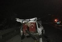 Kaza Yapan Sürücü Alkollü Çıktı