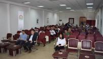 EĞİTİM TOPLANTISI - Mersin'de 'Şarbon' Hastalığı Eğitimi
