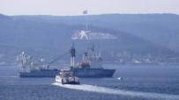 Rus Askeri Kurtarma Gemisi Boğazdan Geçti