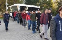 SAMSUNSPOR - Sporda Şiddetten Gözaltına Alınan 14 Kişi Adliyeye Sevk Edildi