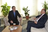ORHAN BULUTLAR - Vali Azizoğlu'ndan Başkan Bulutlar'a Veda Ziyareti