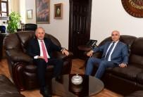 SEYFETTIN AZIZOĞLU - Vali Azizoğlu'ndan Başkan Korkut'a Veda Ziyareti
