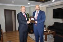 SEYFETTIN AZIZOĞLU - Vali Azizoğlu'ndan, Başkan Orhan'a Veda Ziyareti