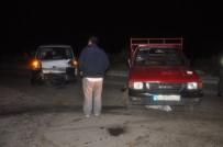 Zonguldak'ta Pikap İle Kamyonet Çarpıştı Açıklaması 2 Yaralı