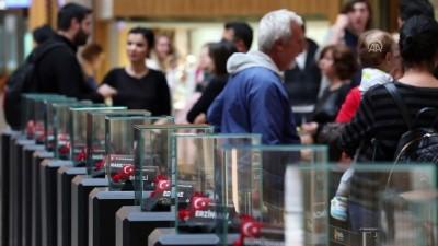 81 İlden Gelen Topraklarla Atatürk Portresi