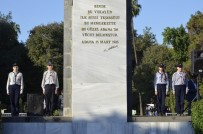 ANMA ETKİNLİĞİ - Adana'da 10 Kasım Atatürk'ü Anma Töreni Yapıldı