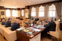 ADEM ALI YıLMAZ - ATO Yönetiminden Başkan Çetin'e Ziyaret