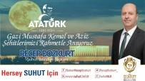 Başkan Bozkurt'un Atatürk'ü Anma Günü Mesajı