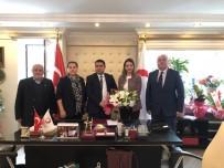 MISYON - Başkan Yardımcısı Cebar'dan Kızılay'a Ziyaret