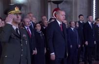 BİNALİ YILDIRIM - Cumhurbaşkanı Erdoğan, Anıtkabir Özel Defteri'ni imzaladı
