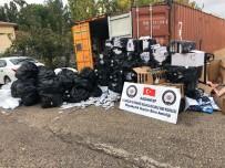Gaziantep'te Kaçak Sigara Operasyonu Açıklaması 6 Gözaltı