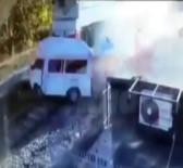 Hemzemin Geçitte 2 Kişinin Öldüğü Kaza Kamerada