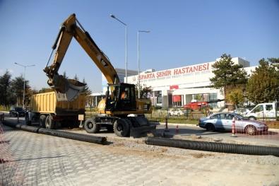 Isparta Belediyesi'nden Hat Yenileme Çalışmaları