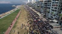 ÖLÜM YILDÖNÜMÜ - İzmir'de Binler 'Ata'ya Saygı Yürüyüşü'nde