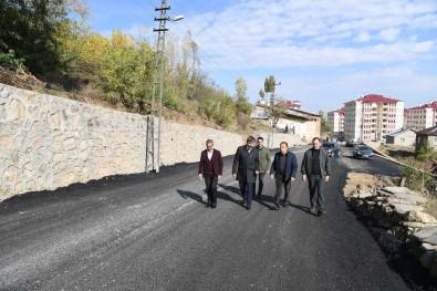 Kale Mahallesi Fabrika Caddesi Yenilenen Yüzüyle Halkın Hizmetinde