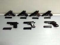 Kamyona Gizlenmiş 7 Adet Tabanca Ele Geçirildi, 2 Gözaltı