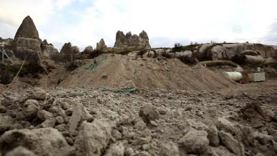 Kapadokya'daki Kaçak Yapılaşma