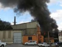 BİNA YANGINI - Kartal'da fabrikada yangını