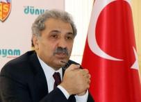 KADIR HAS - Kayserispor'da Erol Bedir Yeniden Başkan