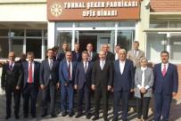 TİCARET ODASI - KTO Başkanı Gülsoy, Turhal Şeker Fabrikasını Ziyaret Etti