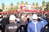 GARNIZON KOMUTANLıĞı - Mersin'de 7'Den 70'E Herkes Atatürk'ü Andı