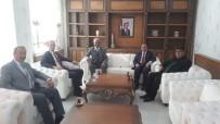 Muş MHP İl Başkanı Kaymakam Yalçın'ı Ziyaret Etti