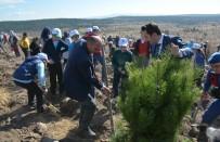 Öğrenciler, Fidanları Toprakla Buluşturdu