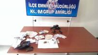 Otomobilinde Ruhsatsız Tabanca Ve Uyuşturucuyla Yakalanan Şahıs Tutuklandı