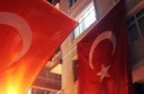 EDIRNEKAPı - Şehit Ateşi İstanbul'a Düştü