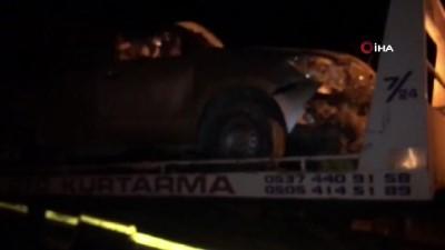 Şoförünün Kalp Krizi Geçirdiği Otomobil Takla Attı Açıklaması 1 Ölü, 4 Yaralı