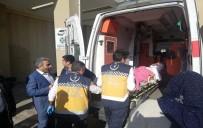 Törende Fenalaşan Gazi, Kaymakamın Makam Aracıyla Hastaneye Yetiştirildi