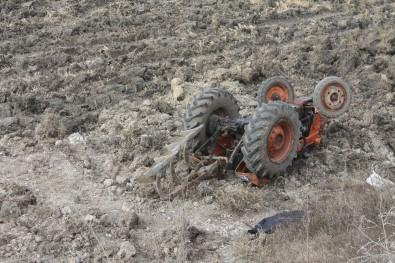Traktör Kazasında Bir Kişi Öldü