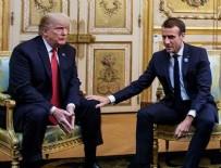 ESENBOĞA HAVALIMANı - Trump ve Macron Suudi Arabistan'dan daha fazla bilgi istedi