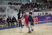 ZILAN - Türkiye Kadınlar Basketbol Ligi Açıklaması Yalova VIP Açıklaması 59 - Mersin Üniversitesi Açıklaması 64