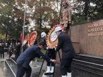 GARNIZON KOMUTANLıĞı - Ulu Önder Atatürk Ölümünün 80. Yılında Çorlu'da Anıldı