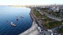 SANAT MÜZİĞİ - Ulu Önder Mustafa Kemal Atatürk, Maltepe'de 'Saygı Zinciri' Ve 'Saygı Dalışı' İle Anıldı