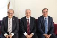 SÜLEYMAN KAMÇI - Vali Kamçı'dan Başkan Ekici'ye Veda Ziyareti