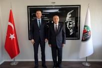 DIYALOG - Yaşar'dan Ankara Barosu'na Hayırlı Olsun Ziyareti
