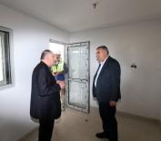 Başkan Toçoğlu Yeni Bölge Hali Kompleksi'nde İncelemelerde Bulundu