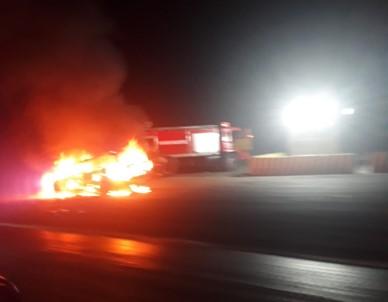 Cezaya Kızdı, Otomobilini Ateşe Verdi