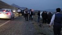 Gercüş'te Kontrolden Çıkan Araç Takla Attı Açıklaması 5 Yaralı