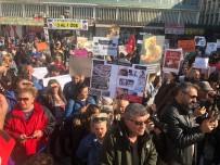 SOKAK HAYVANLARI - Hayvanseverler 'Hayvan Haklarını Koruma Kanun Tasarısı'nı Protesto Etti