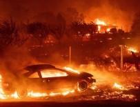 ORMAN YANGINI - Kaliforniya'da dev yangın: 23 kişi hayatını kaybetti