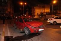SARıLAR - Manavgat'ta Trafik Kazası Açıklaması 1 Yaralı