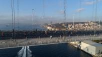 TARİHİ YARIMADA - Maraton Sporcularının Tarihi Yarımada Ve Galata Köprüsü'nden Geçişleri Havadan Görüntülendi