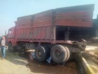 YOLCU TRENİ - Ödemiş Treni Kaza Yaptı Açıklaması 1 Yaralı